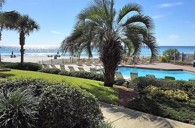 panama city beach pool by the ocean