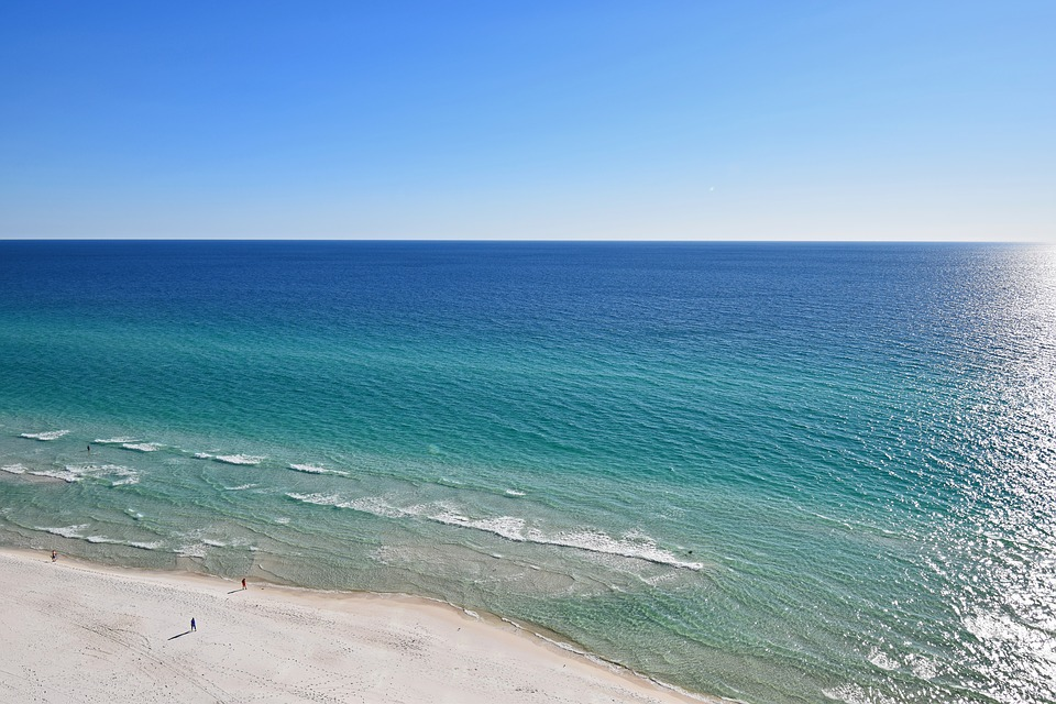 the shores of panama city beach