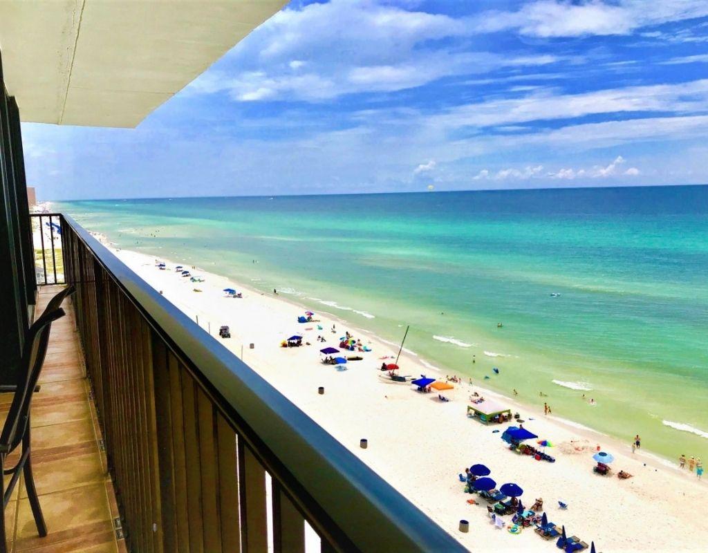 view from panama city beach condo