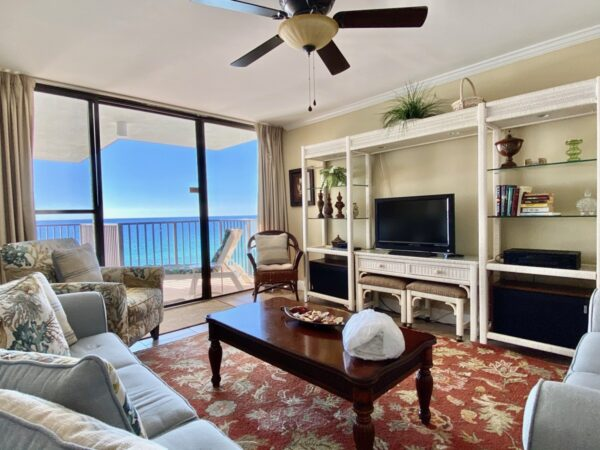 Outstanding views from a Panama City Beach condo rental
